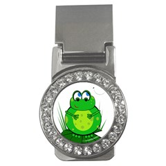 Green Frog Money Clips (CZ)