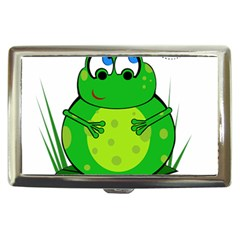 Green Frog Cigarette Money Cases