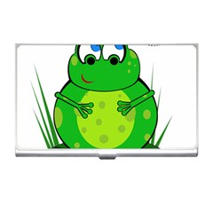 Green Frog Business Card Holders