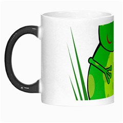 Green Frog Morph Mugs