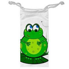 Green Frog Jewelry Bags
