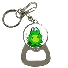 Green Frog Bottle Opener Key Chains