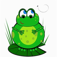Green Frog Canvas 20  x 20
