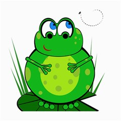 Green Frog Canvas 20  X 24