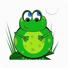 Green Frog Canvas 36  x 48