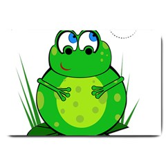Green Frog Large Doormat