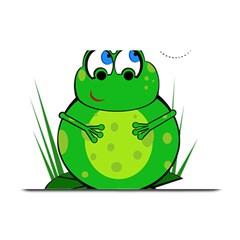 Green Frog Plate Mats
