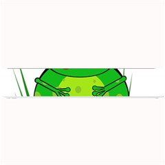 Green Frog Small Bar Mats