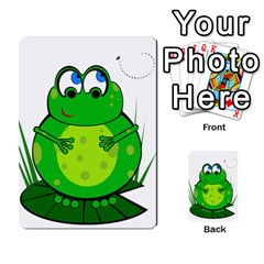 Green Frog Multi-purpose Cards (Rectangle)