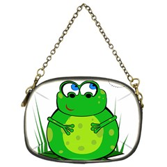 Green Frog Chain Purses (one Side)