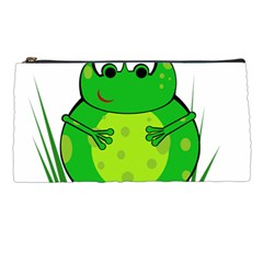 Green Frog Pencil Cases