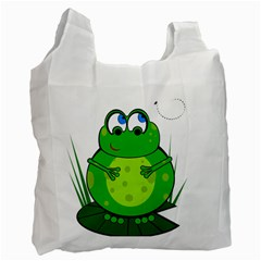 Green Frog Recycle Bag (Two Side)