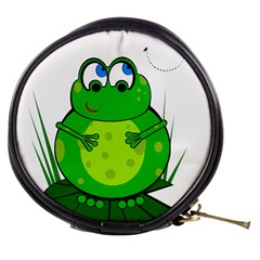 Green Frog Mini Makeup Bags