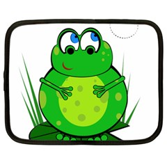 Green Frog Netbook Case (XXL)