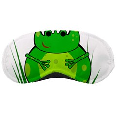 Green Frog Sleeping Masks