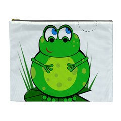 Green Frog Cosmetic Bag (xl)