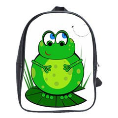 Green Frog School Bags(Large)