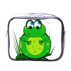 Green Frog Mini Toiletries Bags