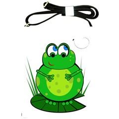 Green Frog Shoulder Sling Bags