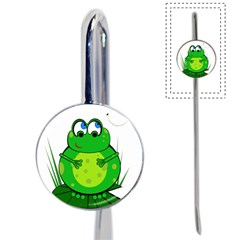 Green Frog Book Mark
