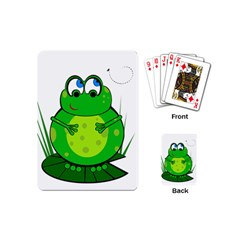 Green Frog Playing Cards (Mini)
