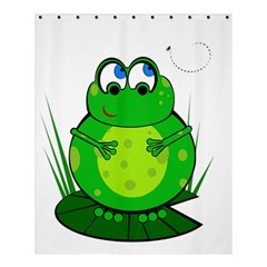 Green Frog Shower Curtain 60  x 72  (Medium)