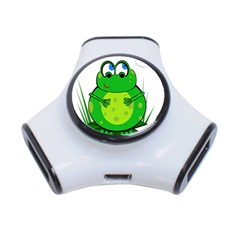 Green Frog 3-Port USB Hub