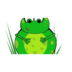 Green Frog YOU ARE INVITED 3D Greeting Card (8x4)