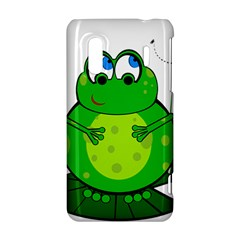 Green Frog HTC Evo Design 4G/ Hero S Hardshell Case