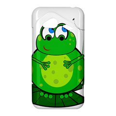 Green Frog HTC Droid Incredible 4G LTE Hardshell Case