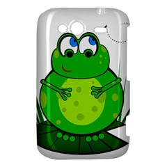 Green Frog HTC Wildfire S A510e Hardshell Case