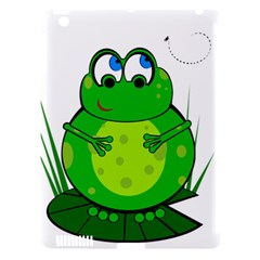 Green Frog Apple iPad 3/4 Hardshell Case (Compatible with Smart Cover)