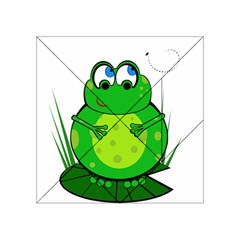 Green Frog Acrylic Tangram Puzzle (4  X 4 )