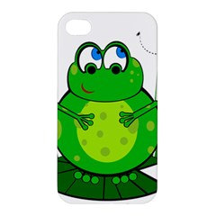Green Frog Apple Iphone 4/4s Premium Hardshell Case