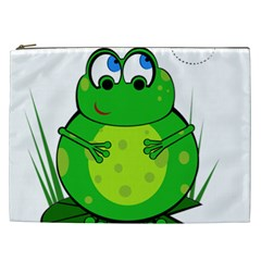 Green Frog Cosmetic Bag (XXL)