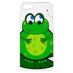 Green Frog Apple iPhone 5 Hardshell Case