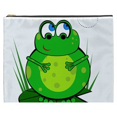 Green Frog Cosmetic Bag (xxxl)