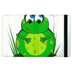 Green Frog Apple iPad 3/4 Flip Case