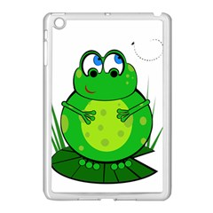 Green Frog Apple iPad Mini Case (White)