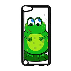 Green Frog Apple iPod Touch 5 Case (Black)