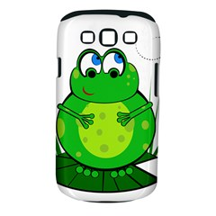 Green Frog Samsung Galaxy S Iii Classic Hardshell Case (pc+silicone)