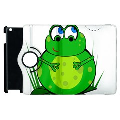 Green Frog Apple iPad 3/4 Flip 360 Case