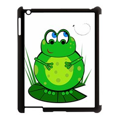 Green Frog Apple iPad 3/4 Case (Black)
