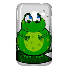 Green Frog Samsung Galaxy Ace Plus S7500 Hardshell Case
