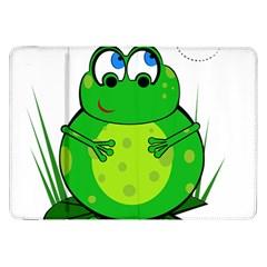 Green Frog Samsung Galaxy Tab 8 9  P7300 Flip Case
