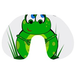 Green Frog Travel Neck Pillows