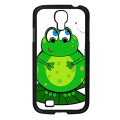 Green Frog Samsung Galaxy S4 I9500/ I9505 Case (Black)