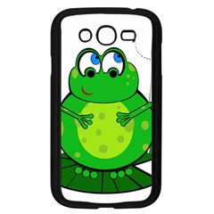 Green Frog Samsung Galaxy Grand Duos I9082 Case (black)