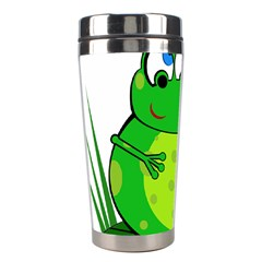 Green Frog Stainless Steel Travel Tumblers
