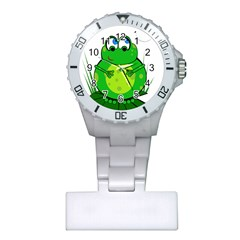 Green Frog Plastic Nurses Watch